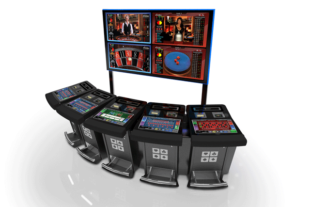 Mojo electronic terminals for roulette and baccarat