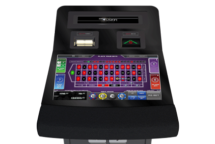 Gaming terminals for roulette and baccarat, Fusion