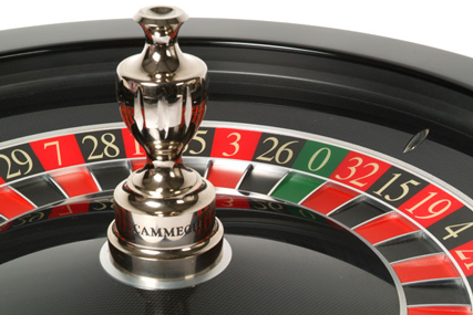 Cammegh Mercury 360 roulette wheel with inbuilt winning number recognition