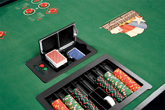Shuffle machine Deck Mate for poker room