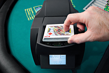 card dealing machine